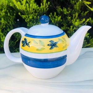 Cute Little Maxwell Williams Hand Painted Teapot
